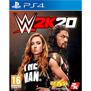 PS4 game WWE 2K20