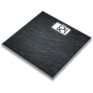 Glass bathroom scale Beurer GS 203 GS203SLATE