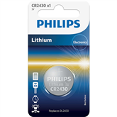 Battery Philips CR2430 3 V Lithium