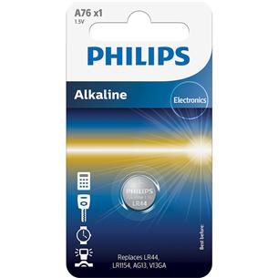 Battery Philips A76 1.5 V Alkaline (LR44 / LR1154)