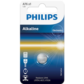 Battery Philips A76 1.5 V Alkaline (LR44 / LR1154)