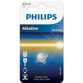 Patarei Philips A76 1.5 V Alkaline (LR44 / LR1154)