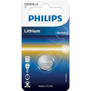 Battery Philips CR1616 3 V Lithium