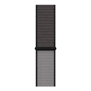 Replacement strap Apple Watch Anchor Grey Sport Loop - Regular 44 mm