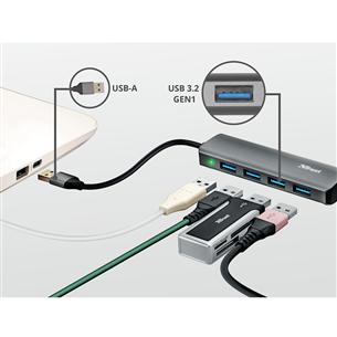 USB-маршрутизатор Halyx 4 USB 3.2, Trust
