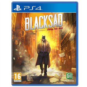 PS4 mäng Blacksad: Under the Skin