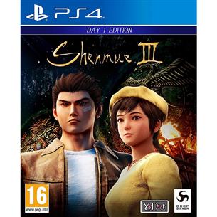 Игра для PlayStation 4, Shenmue III - Day 1 Edition