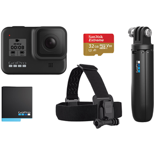 Комплект с экшн-камерой HERO8 Black Bundle, GoPro CHDRB-801