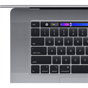 Ноутбук Apple MacBook Pro 16'' (2019), ENG клавиатура