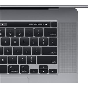 Sülearvuti Apple MacBook Pro 16'' (512 GB) SWE