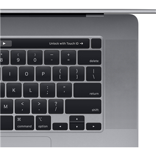 Sülearvuti Apple MacBook Pro 16'' (1 TB) SWE