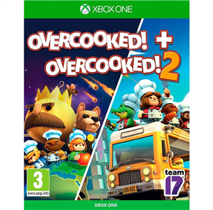 Xbox One games Overcooked 1 & 2