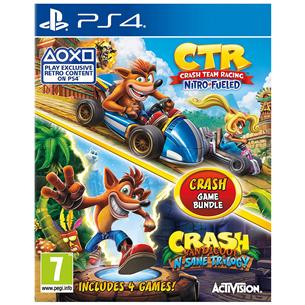Игра для PlayStation 4, Crash Bandicoot Bundle