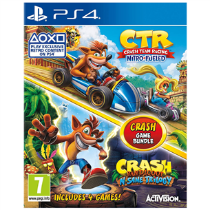 PS4 game Crash Bandicoot Bundle