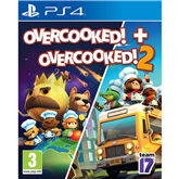 PS4 games Overcooked 1 & 2