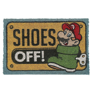 Uksematt Mario Shoes Off
