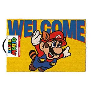 Дверной коврик Mario Welcome