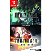 Switch mängud Final Fantasy VII ja VIII