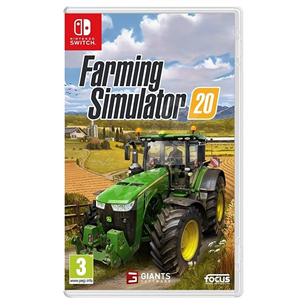 Switch mäng Farming Simulator 20