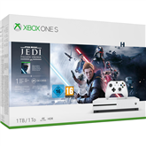 Mängukonsool Microsoft Xbox One S (1 TB) + Star Wars Jedi: Fallen Order