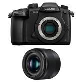Camera Panasonic Lumix GH5 + lens Panasonic Lumix G 25mm f/1,7 ASPH