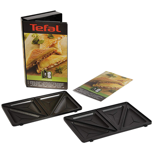 Triangle toasted sandwich set for Tefal Snack Collection XA800212