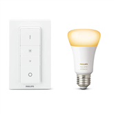 Умная лампочка Philips Hue White Ambiance (E27) + диммер Hue