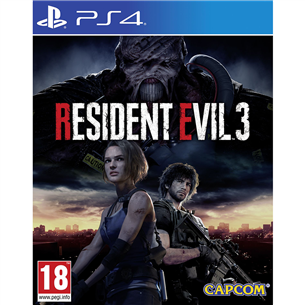 PS4 game Resident Evil 3 PS4RE3
