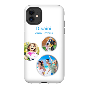 Personalized iPhone 11 matte case (Tough)