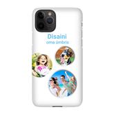 Disainitav iPhone 11 Pro matt ümbris (Snap)
