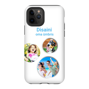 Disainitav iPhone 11 Pro läikiv ümbris (Tough)