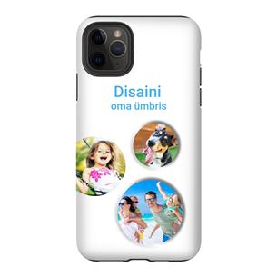 Disainitav iPhone 11 Pro Max matt ümbris (Tough)