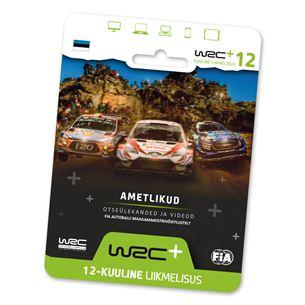WRC+ All Live 12-kuuline liikmelisus WRCPLUS12