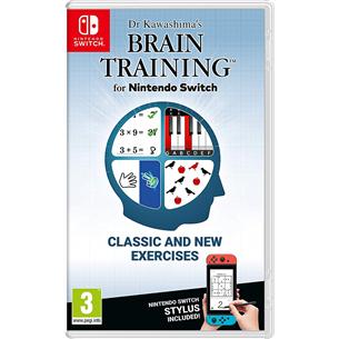 Switch mäng Dr. Kawashimas Brain Training