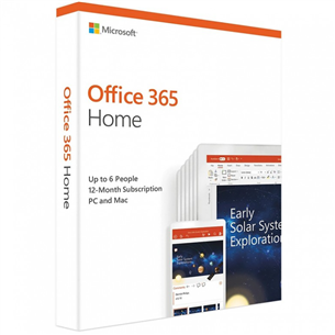 Microsoft Office 365 Home / лицензия на 1 год
