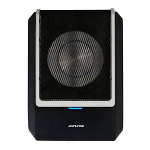 DSP amplifier with built in subwoofer Alpine