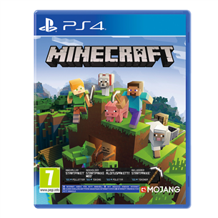 PS4 game Minecraft Bedrock Edition 711719345107