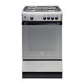 Gas cooker with gas oven Indesit (50 cm)