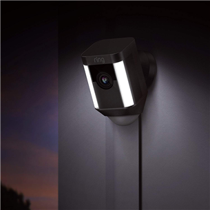 Outdoor security camera Ring Spotlight Cam Wired
