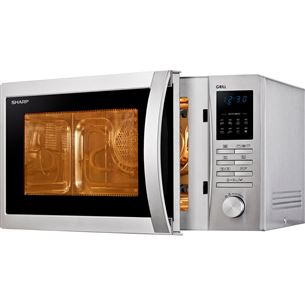Microwave with grill Sharp (25 L)