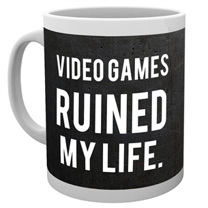 Mug Video Games Ruined my Life