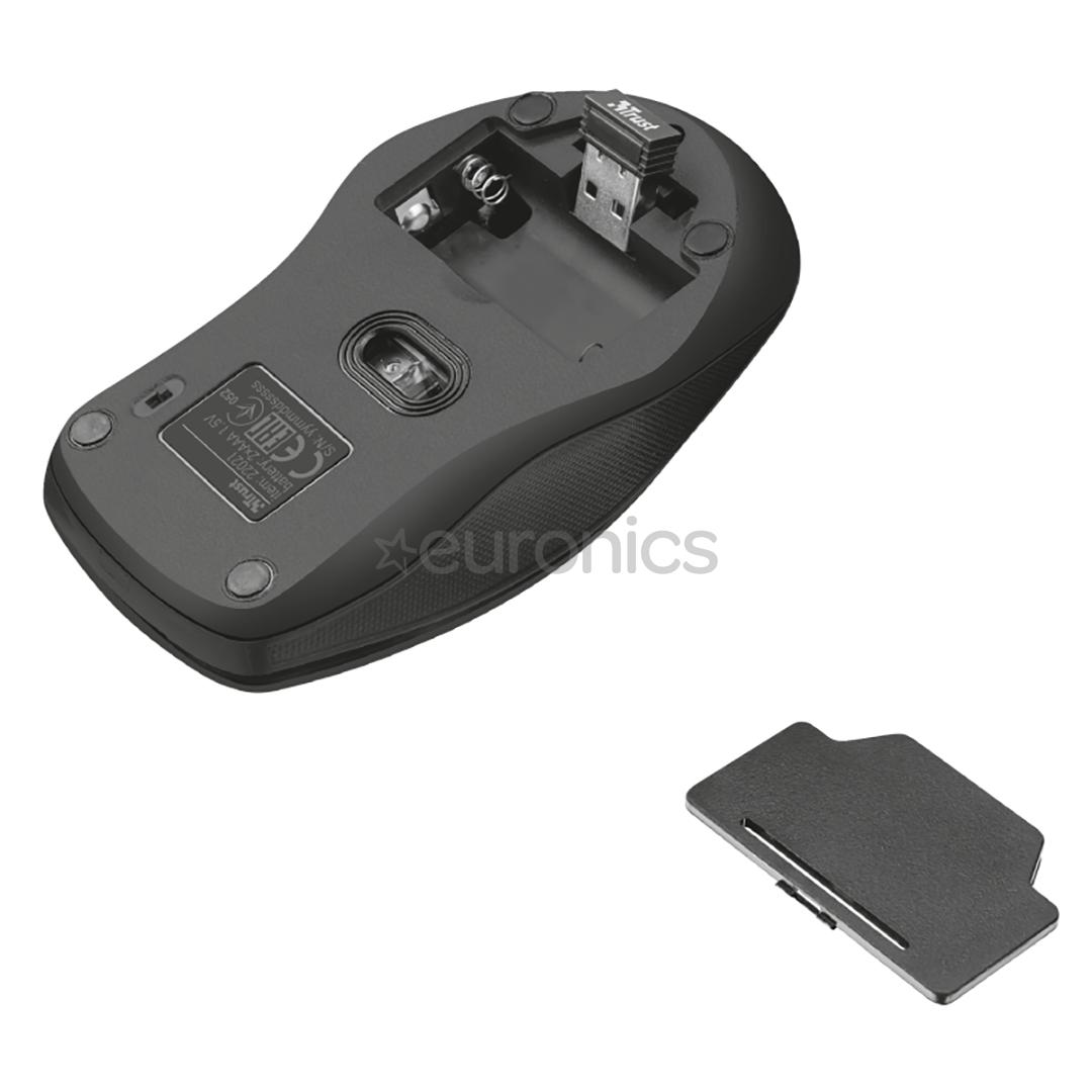 Wireless keyboard + mouse Trust Ziva