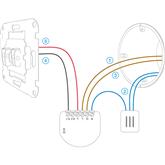 Relee ühe väljundiga Fibaro Single Switch 2