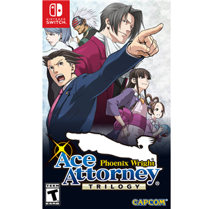 Игра Phoenix Wright: Ace Attorney Trilogy для Nintendo Switch