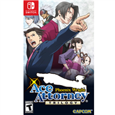 Switch mäng Phoenix Wright: Ace Attorney Trilogy