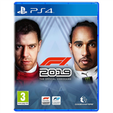 PS4 game F1 2019