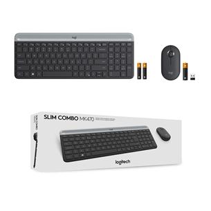 Juhtmevaba klaviatuur + hiir Logitech MK470 Slim Combo (RUS)