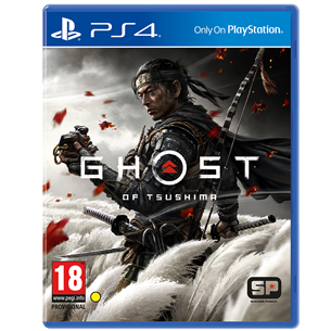 PS4 mäng Ghost of Tsushima