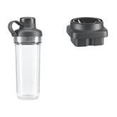 Dual-purpose jar for KitchenAid Artisan K400 blender