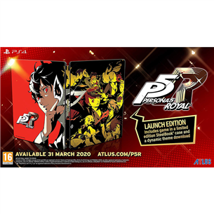 PS4 mäng Persona 5 Royal Launch Edition